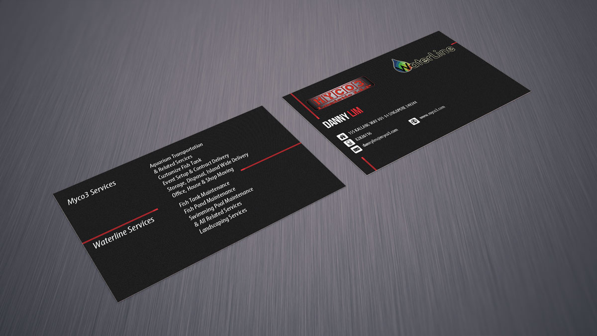 Corporate Name Card Design – Name Card